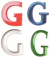 plastic sign letters selection of shapes and colors