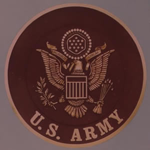 US Army Bronze Emblem