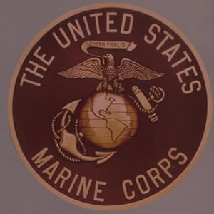 US Marines Bronze Emblem