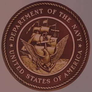 US Navy Bronze Emblem